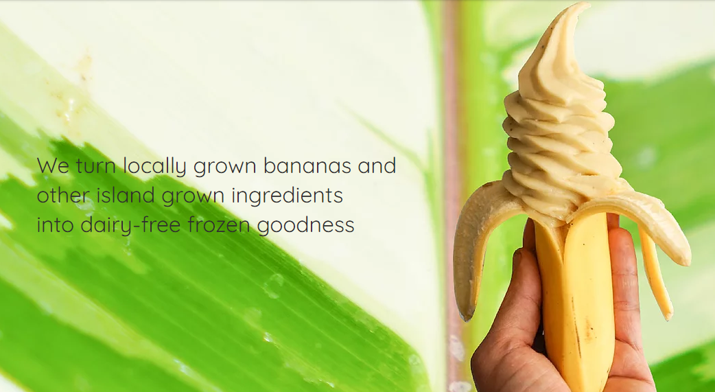 BANAN: Soft-Serve the Hawai'ian way.